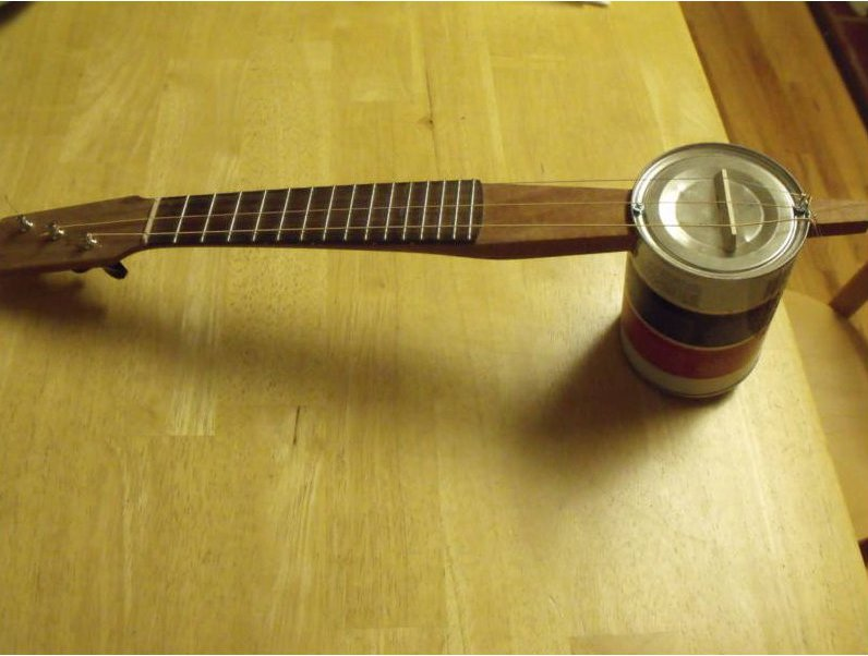 Tin Can Ukulele