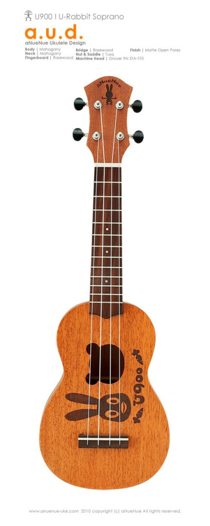 U-900 Rabbit Soprano Ukulele