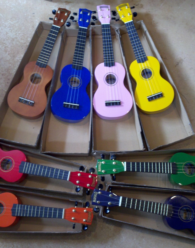 Mahalo Ukuleles for Kids