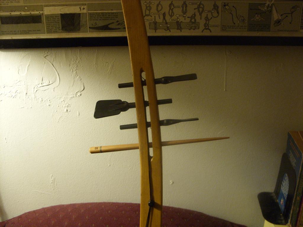 Treholipee Improvided Paddle Repair